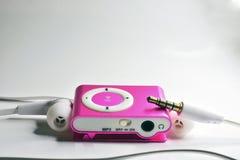 1台MP3播放器 库存图片