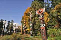 史丹利公园在秋天 库存照片