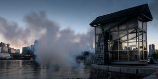 史丹利公园BC温哥华加州 免版税图库摄影