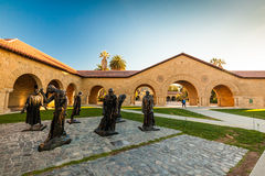 史丹福大学和公园 库存图片