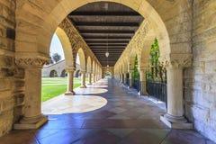史丹福大学在帕洛阿尔托 免版税库存图片