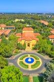 史丹福大学天线 库存图片