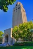 史丹福大学校园在帕洛阿尔托,加利福尼亚 免版税库存照片