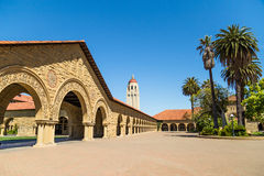 史丹福大学 免版税图库摄影