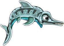 史前的鱼 免版税图库摄影