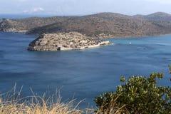 史宾纳隆加岛海岛克利特, Geece 免版税库存照片