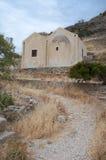 史宾纳隆加岛海岛,贴水帕帕佐普洛斯,拉西锡州希腊 免版税库存图片