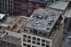 从史密斯塔观察台,西雅图,华盛顿的看法 免版税库存照片