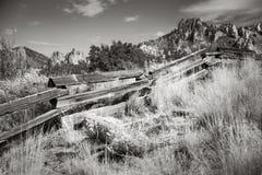 史密斯岩石国家公园,俄勒冈 库存照片