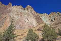 史密斯岩石国家公园- Terrebonne,俄勒冈 库存图片