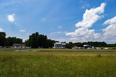 史密斯Mountain湖机场 免版税库存照片