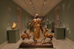 史密松宁美国美术馆在华盛顿特区, 免版税库存图片