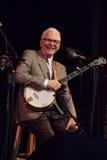 史提夫・马丁执行在山歌曲节日在Brevard, NC 免版税库存照片