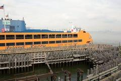 史泰登岛渡轮 免版税库存图片