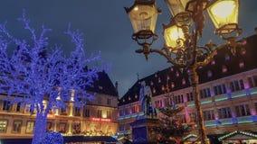 史特拉斯堡法国的市中心 免版税库存图片