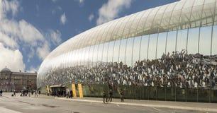 史特拉斯堡火车站(Gare de史特拉斯堡) 库存图片