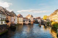 史特拉斯堡,法国老镇  免版税库存图片