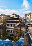 史特拉斯堡,法国老镇  库存照片