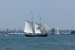 史特拉Artois帆船 图库摄影