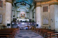 史特拉Maris修道院在海法,以色列 库存图片