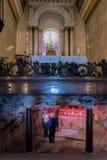 史特拉Maris修道院,海法,以色列 图库摄影