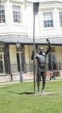 史蒂夫雷德格雷夫Statue先生在Higginson公园Marlow 免版税库存照片