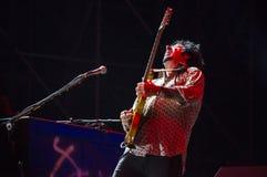 史蒂夫Lukather,活的十东 免版税图库摄影