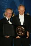 史蒂文Spielberg, Clint Eastwood 库存照片