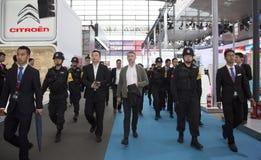 史蒂芬・亨得利MBE在中国 免版税库存照片