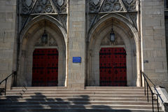 史蒂芬・福斯特纪念教堂细节 免版税库存照片
