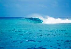 史诗波浪,完善的海浪 图库摄影
