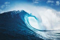 史诗波浪,完善的海浪 免版税库存照片