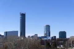 叶卡捷琳堡,俄罗斯都市风景  免版税库存照片