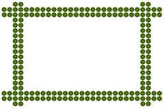 从叶子创造 免版税库存照片