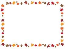 叶子边界 免版税图库摄影