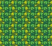 叶子仿造无缝的向量 免版税图库摄影