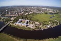 叶尔加瓦市,拉脱维亚 免版税库存图片