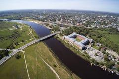 叶尔加瓦市,拉脱维亚 库存照片