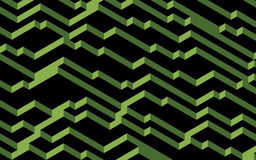 2017年绿叶概念的Pantone颜色 库存例证