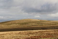叶绿泥石,约克夏,英国 库存照片