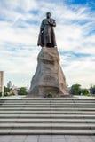叶罗费・帕夫洛维奇・哈巴罗夫纪念碑,哈巴罗夫斯克 免版税库存图片