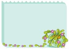 叶茂盛模板 免版税库存图片