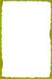 叶茂盛的框架 库存例证