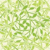 叶茂盛patte无缝的墙纸 免版税库存图片