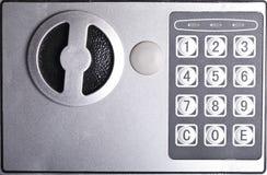 号码锁特写镜头 免版税库存照片