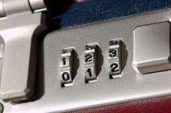 号码锁 库存照片