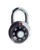 号码锁 免版税图库摄影