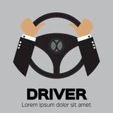 司机设计元素 库存照片