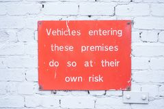 司机负责对汽车内容对偷窃或损失标志负责由管理 库存照片