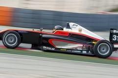 司机Antolin冈萨雷斯 F4西班牙人冠军 库存照片